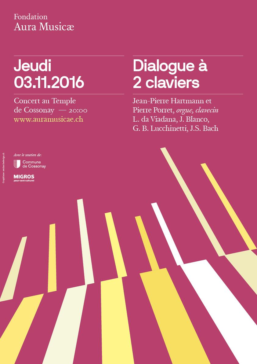 Dialogue à 2 claviers
