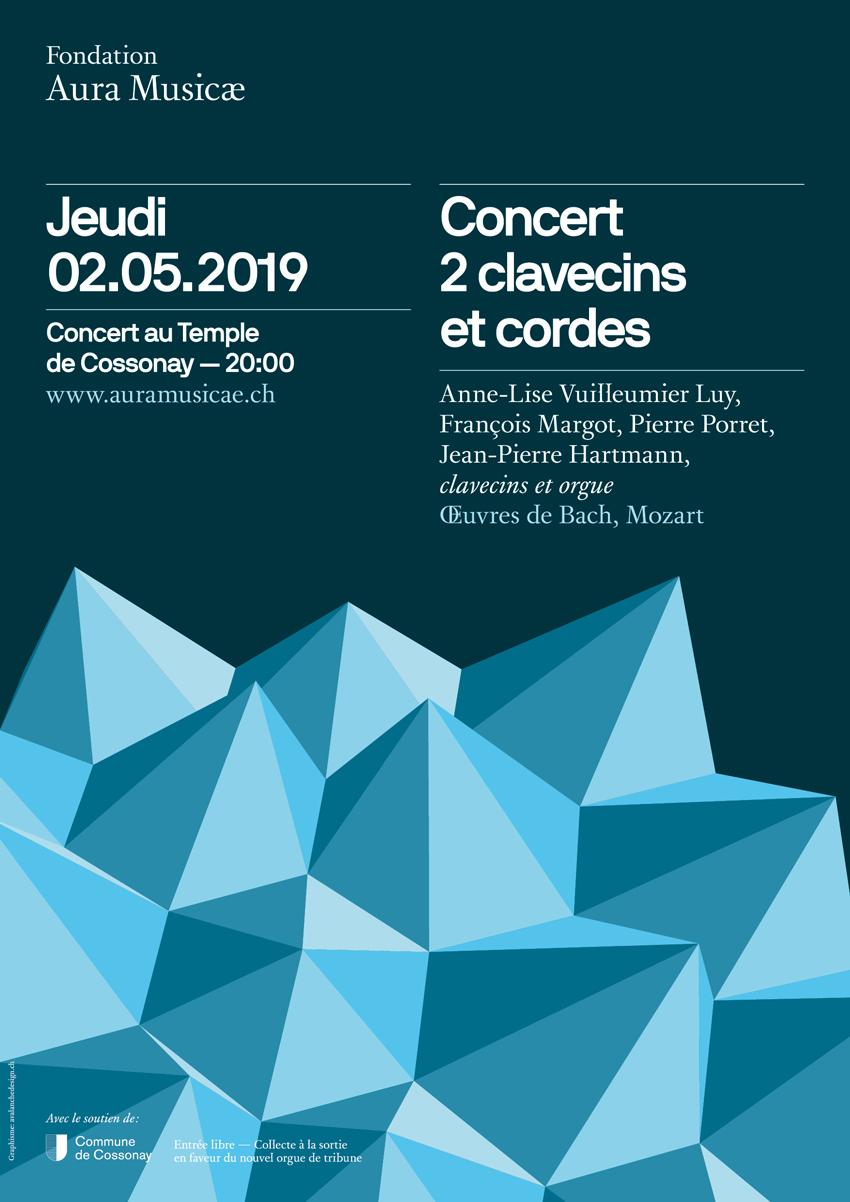 Concert 2 clavecins et cordes